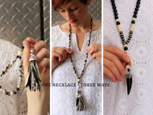 one necklace three ways